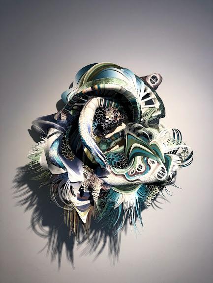 Art exhibit, Crystal Wagner